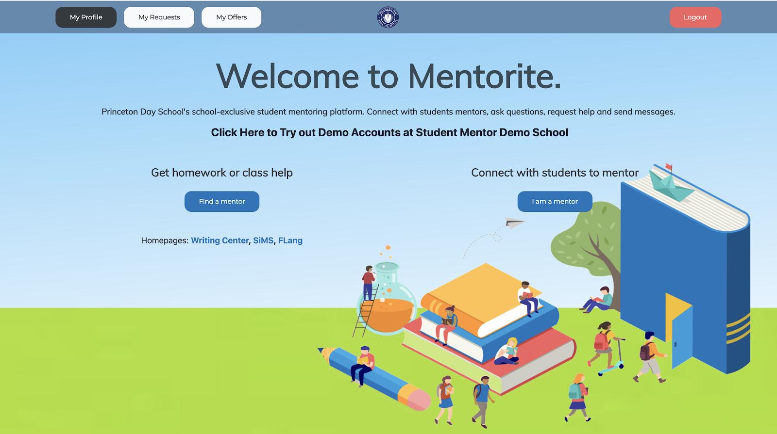 Mentorite site