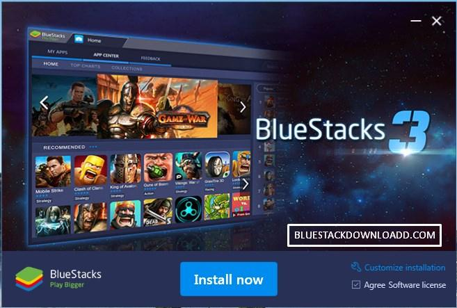 Kết quả hình ảnh cho About BlueStacks version 3