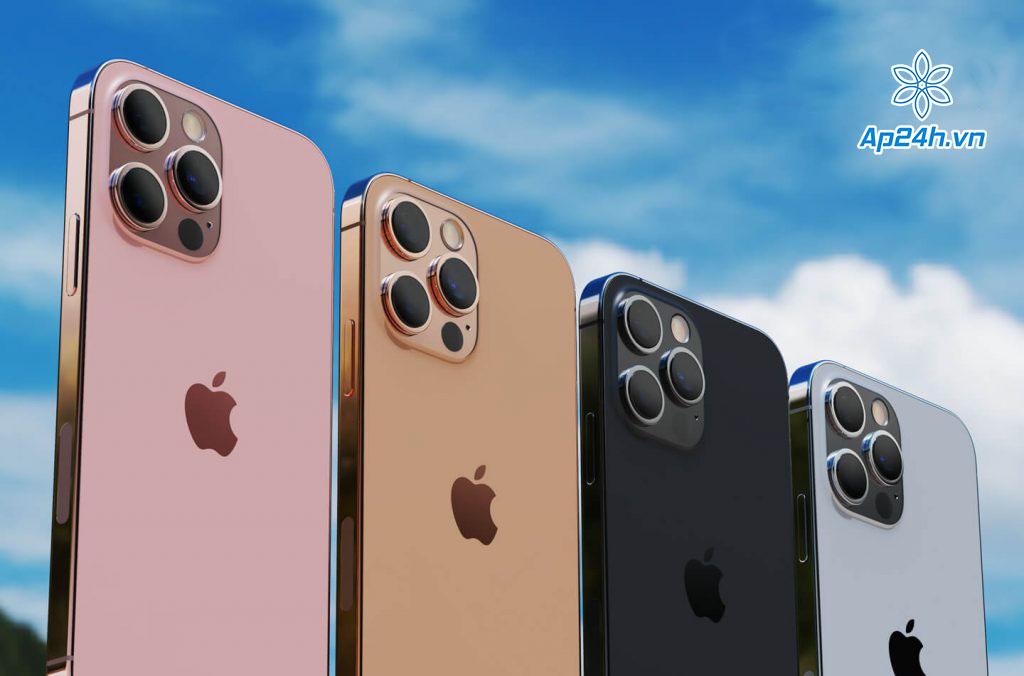 iPhone 13 Pro được cho là sẽ được phát hành với bốn màu khác nhau