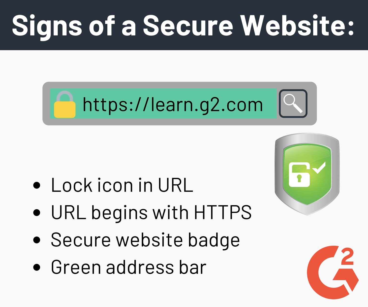 Signs of a Secure Website