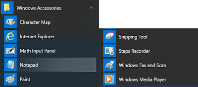 how to use windows accessories