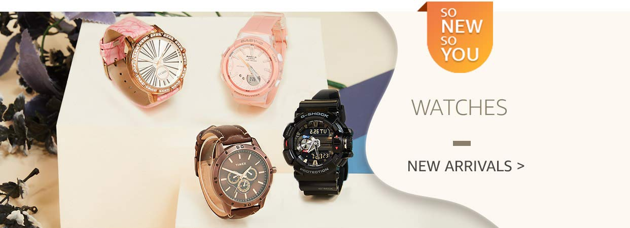 Up to 30% On Branded New Arrivals Watches For Him/Her