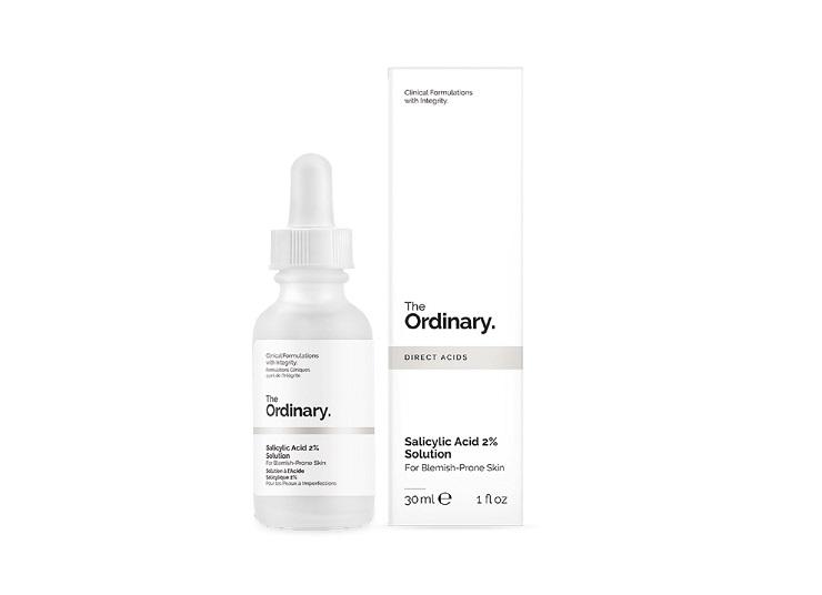 The Ordinary Salicylic Acid 2% Solution, untuk kulit berminyak dan berjerawat. (Foto: The Ordinary)