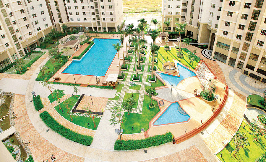 apartment flat for rent in district 2 Swimming pool at Imperia An Phu