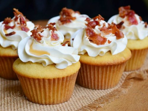 Maple Bacon Cupcakes - Will Cook For Smiles