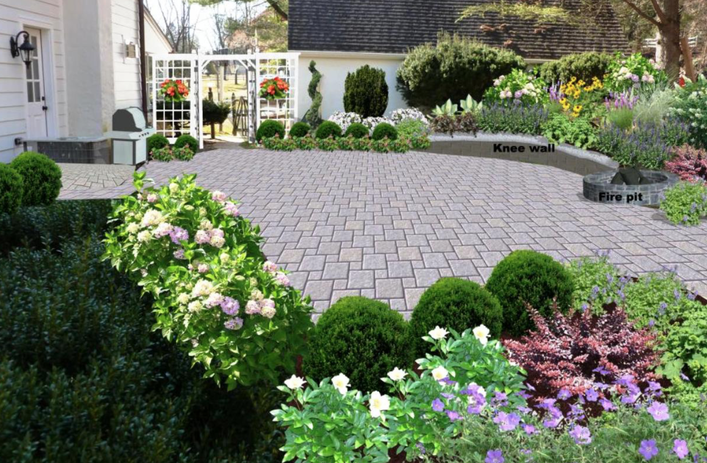 Digital landscaping design