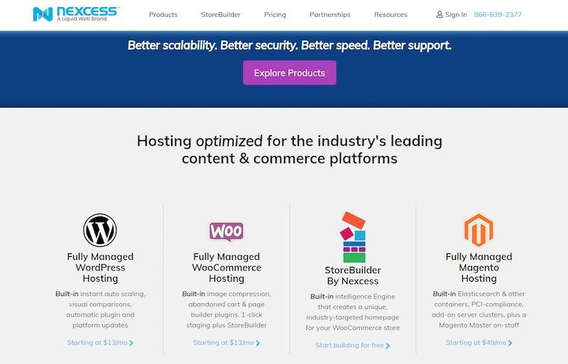 Nexcess E-commerce Hosting
