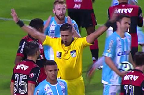Jogo teve ajuda externa ao Flamengo evitando a derrota para o Avaí