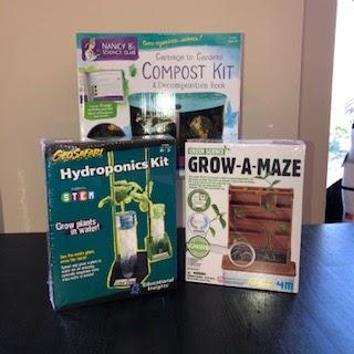 Composting Kit, Hydroponics Kit, Grow A Maze