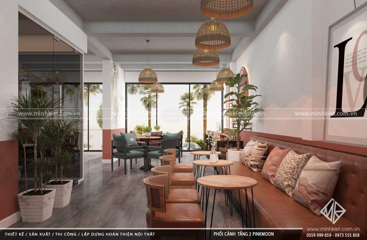 Chí phí thiết kế quán cafe đẹp độc đáo 300-500 triệu