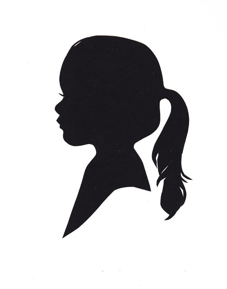 Image result for silhouette art children