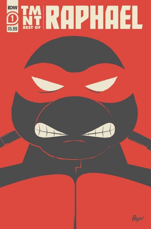 Best of Raphael, IDW comics, Teenage mutant ninja turtles, comics