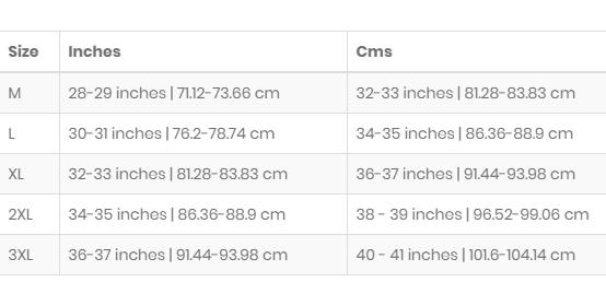 C:\Users\sonu\Desktop\Size Chart.png
