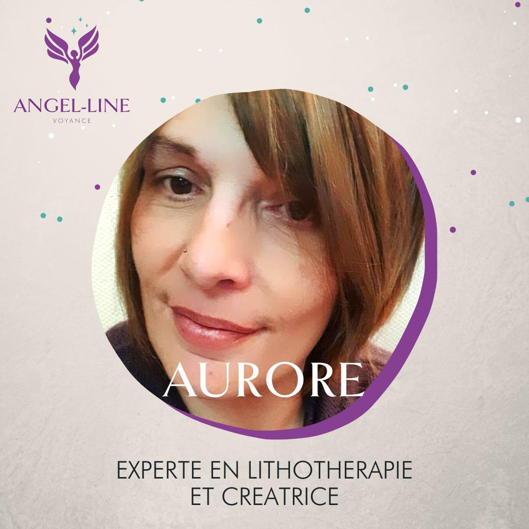 Aurore est lithothérapeute et créatrice de bijou magnétiseur