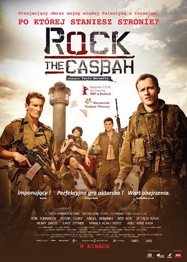 Polski plakat filmu 'Rock The Casbah'
