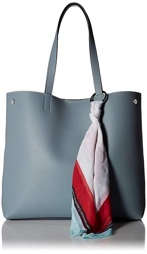 Vegan leather bags: Calvin Klein Rachel Tote