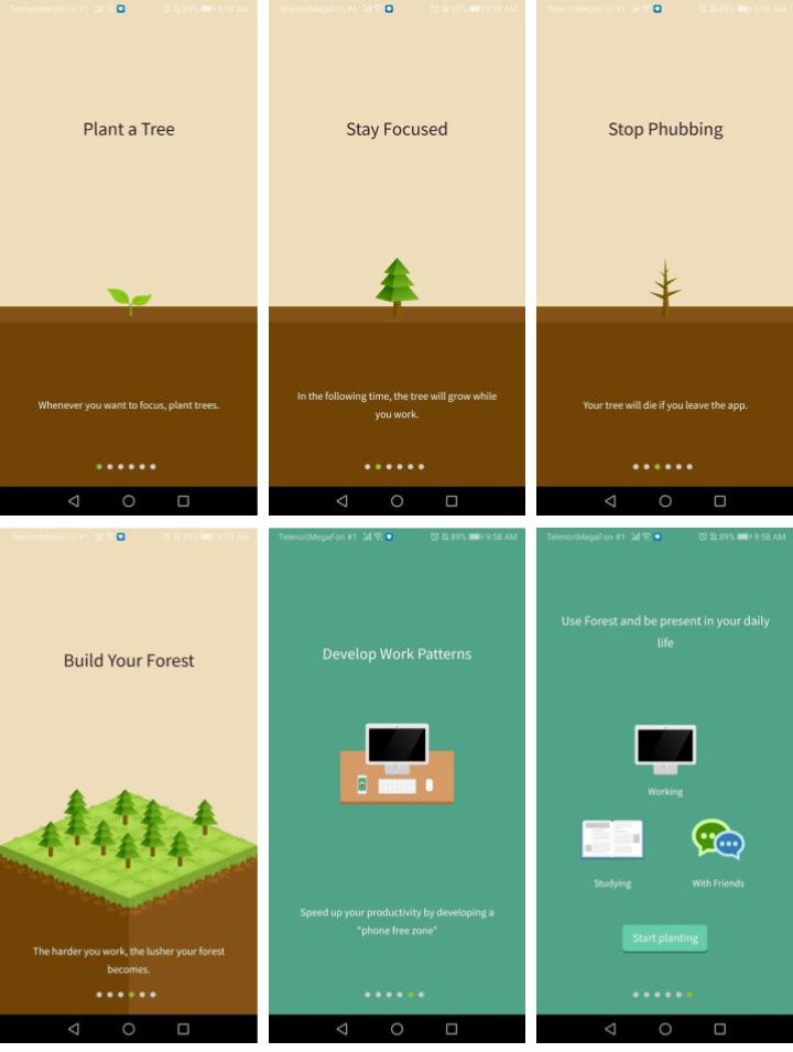 Forest App User Onboarding