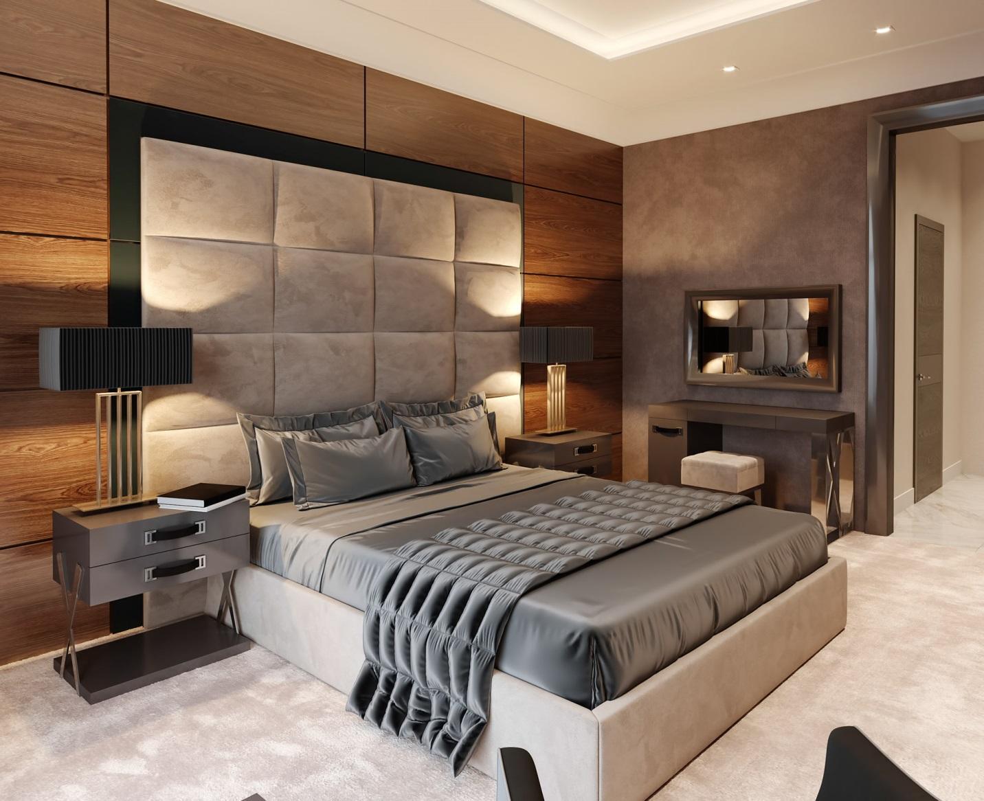 Phòng ngủ phong cách tân cổ điển hiện đại