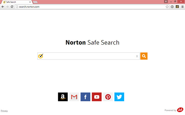 Norton Home Page for Chrome chrome extension