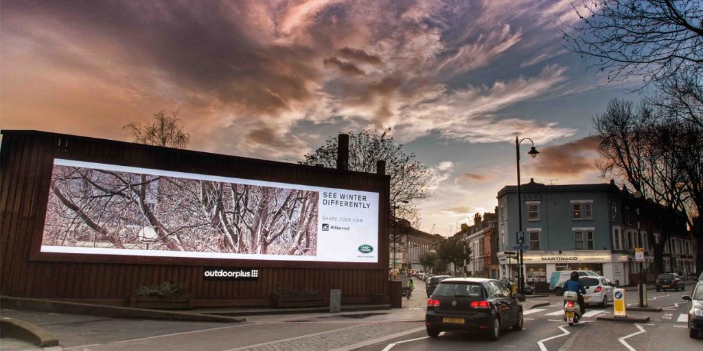 digital billboard by outdoorplus