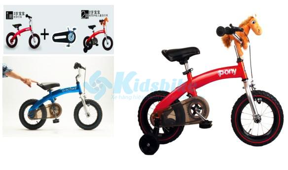 Bộ truyền động khoẻ khoắn giúp bé di chuyển nhẹ nhàng xe đạp royalbaby pony