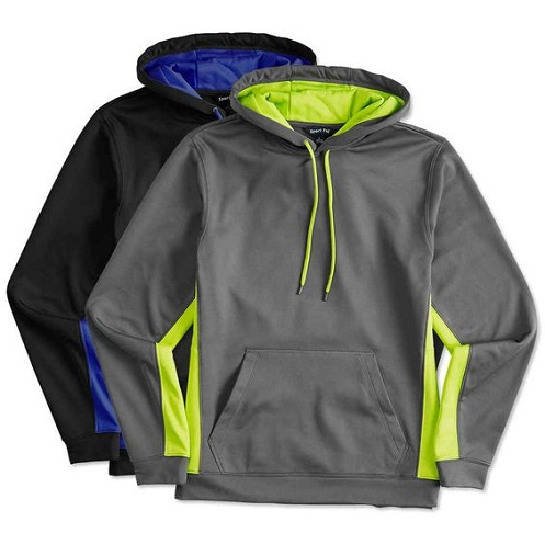 Athletic Men's Sweatshirt with Hoodie