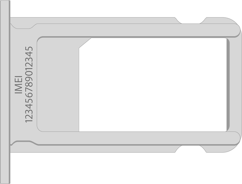 IMEI на корпусе iPhone 7