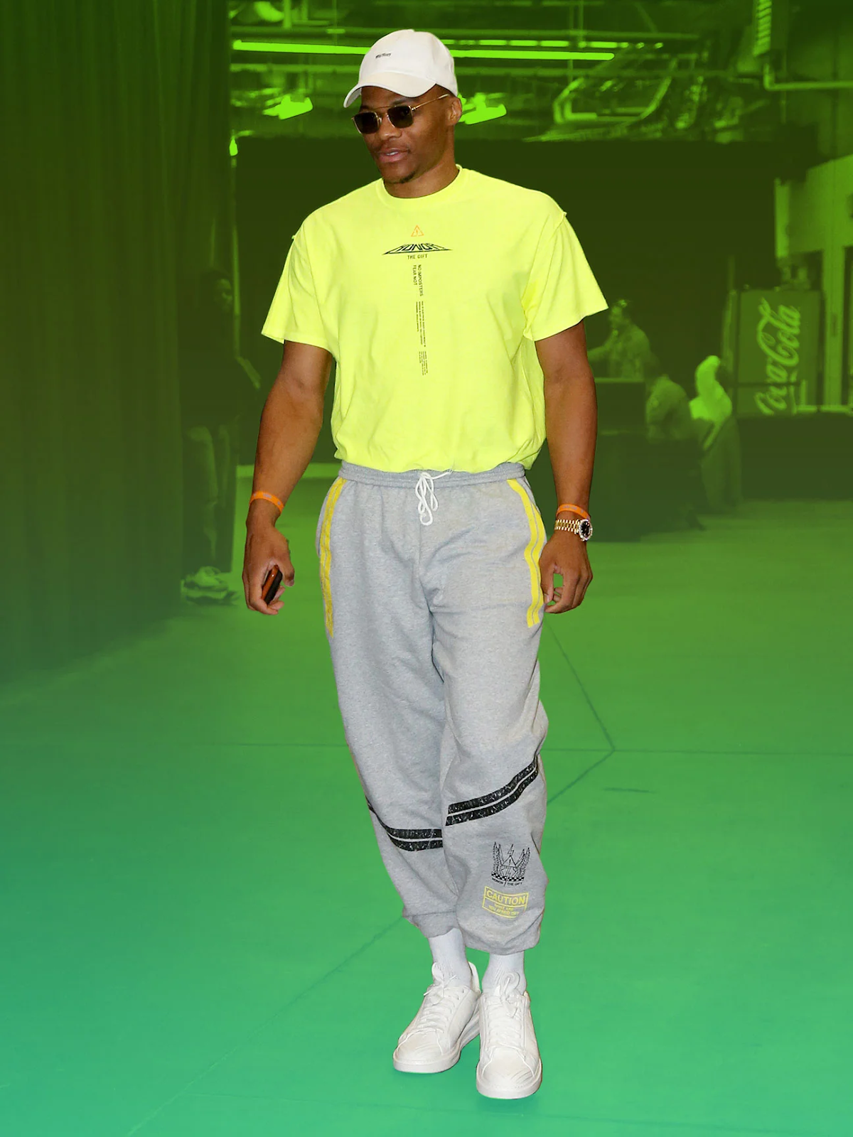Russell Westbrook True Religion Debut