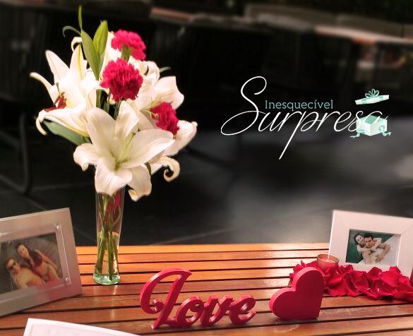 Surpresa Romântica para o namorado