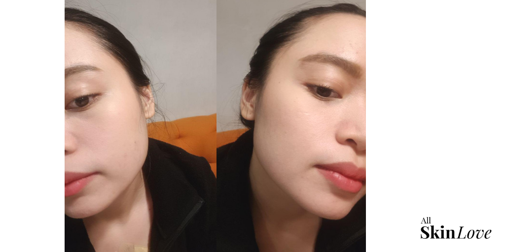 After - with make up