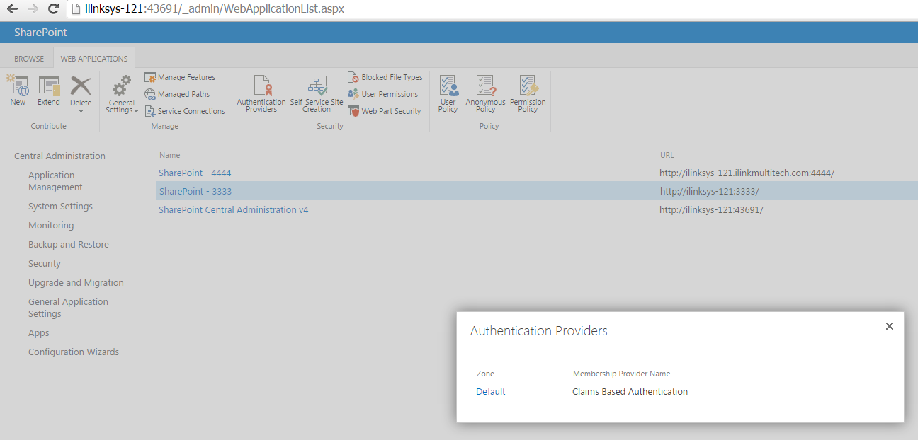 Set Windows Live ID as Identity Provider