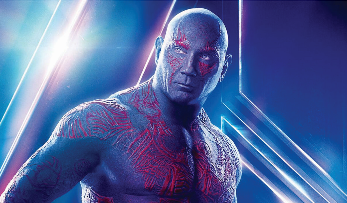 Drax the destroyer Marvel collection movies