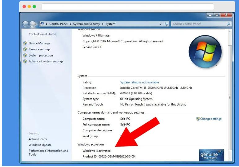 Hướng dẫn cài đặt windows loader chuẩn nhất cho windows 7