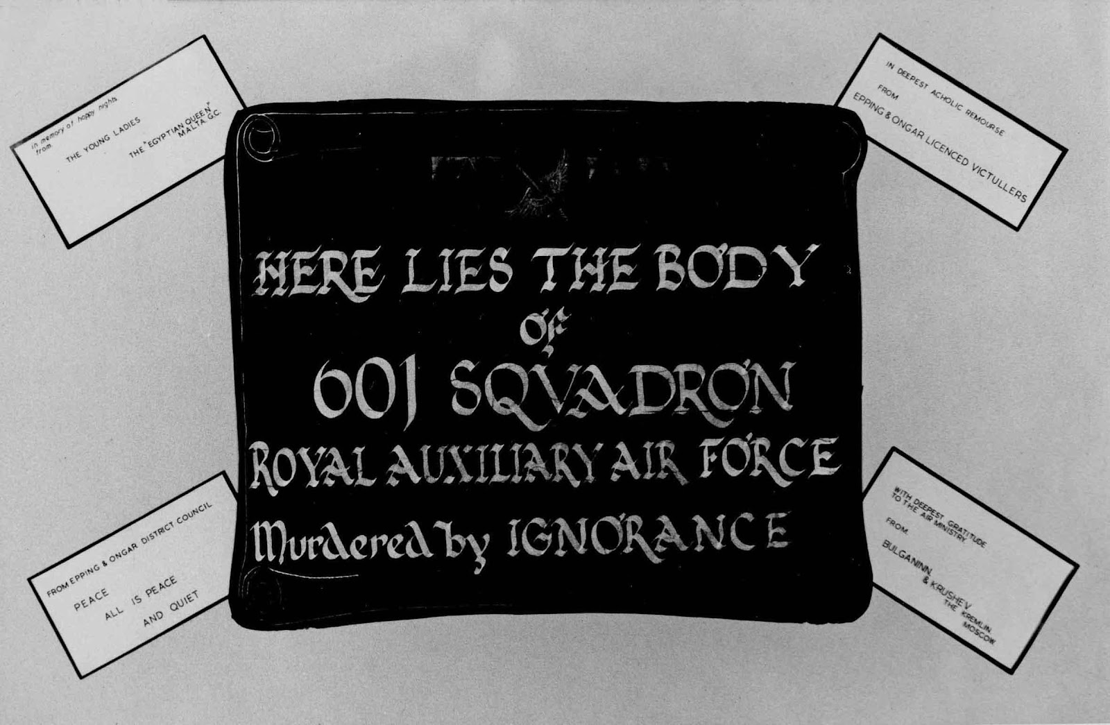 Here lies 601 squadron