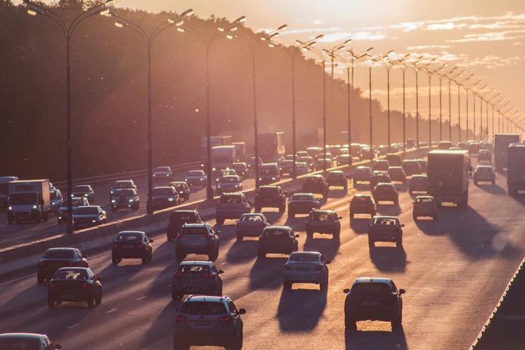 Moscou é uma das cidades com o pior trânsito do mundo. (Alexander Popov/Reprodução)