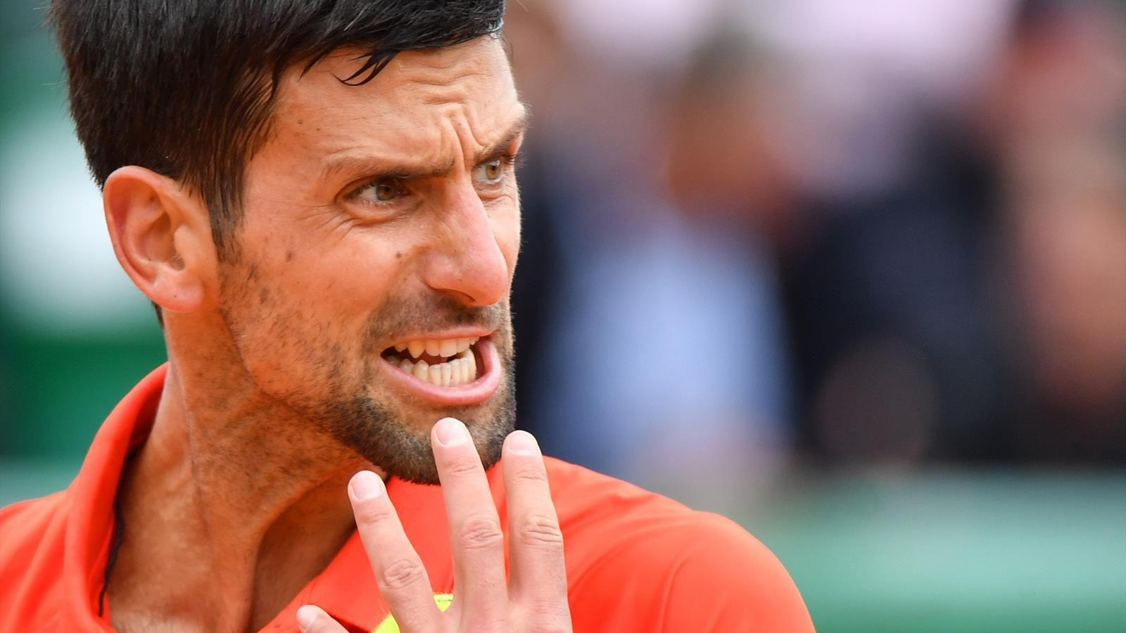 Image result for djokovic monte carlo 2019
