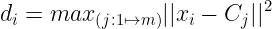 distance calculation