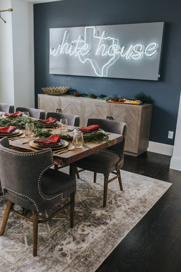 Make a Difference with Neon Sign for Your Dining Room Wall