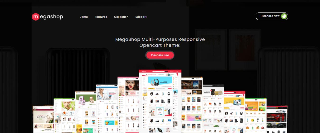 Mega Shop - Opencart jewelry theme
