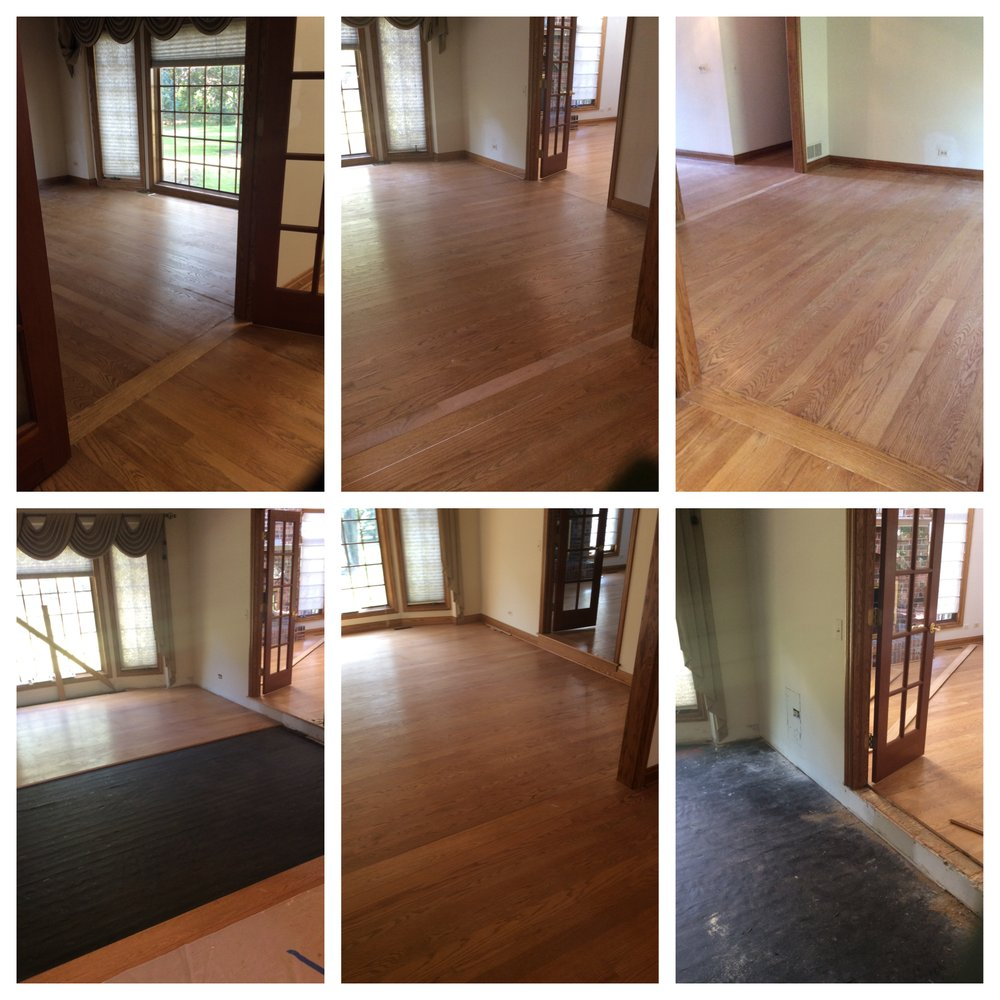 Mr. Handyman floor repair