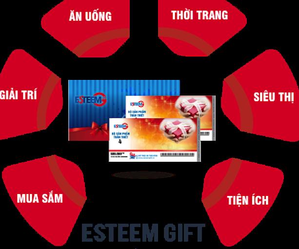 Nhiều đơn vị thu phiếu quà tặng esteem gift đã ra đời tại TPHCM