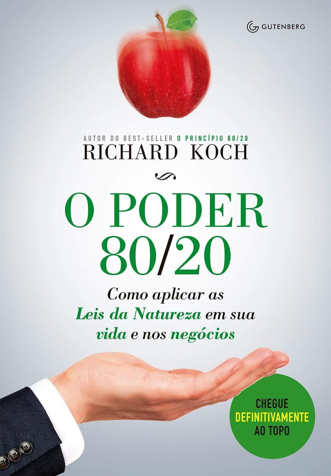 """Livro """"O Poder 80/20"""""""