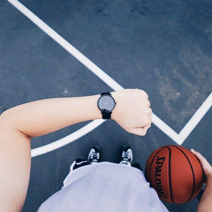 Orologio, Basket, Sport, Attivo, Formazione, Tempo