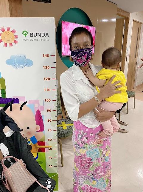 Nyaman Imunisasi di RSIA Bunda Jakarta di tengah Pandemi Covid 19