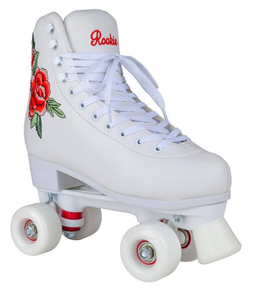 Rookie Rosa Quad Roller Skates - White | Rookie | Roller Skates | Quad  Skates | Skate Bag | SkateHut
