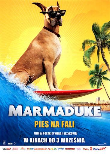 Przód ulotki filmu 'Marmaduke - Pies Na Fali'