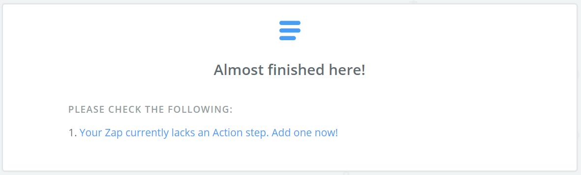 Create Zapier Action