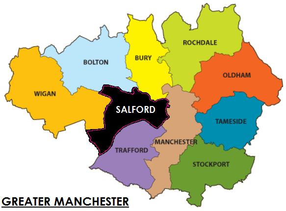 Locksmiths for Salford and Greater Manchester