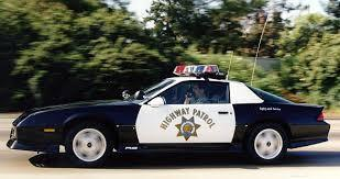 1992 Camaro Highway Patrol (B4C-RS) package