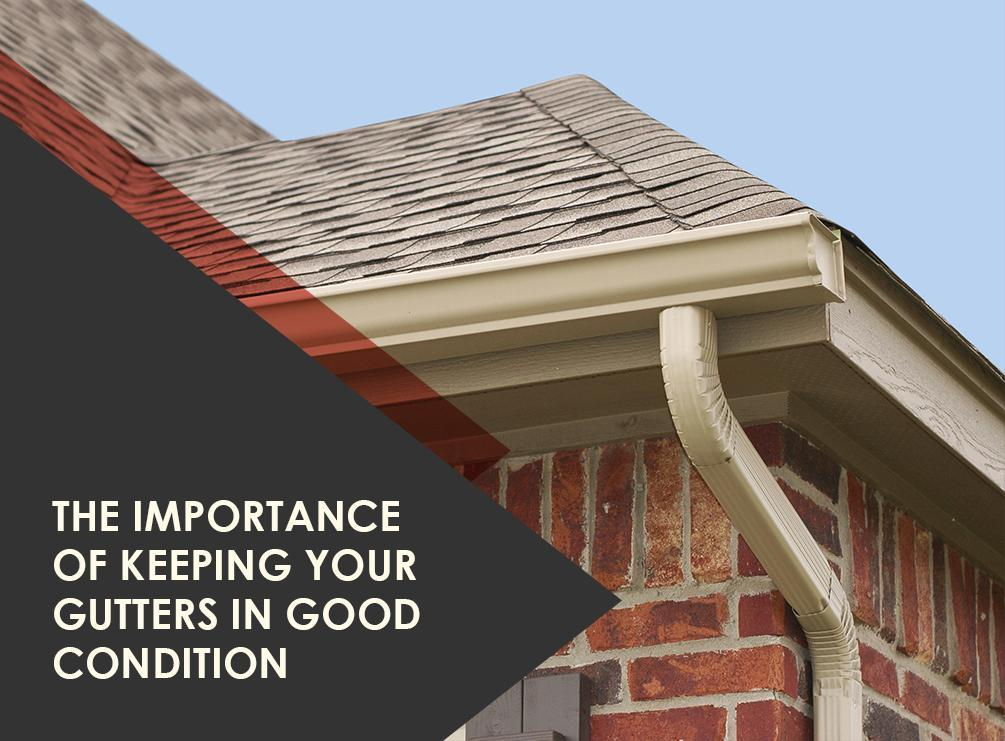 Gutters in Good Condition